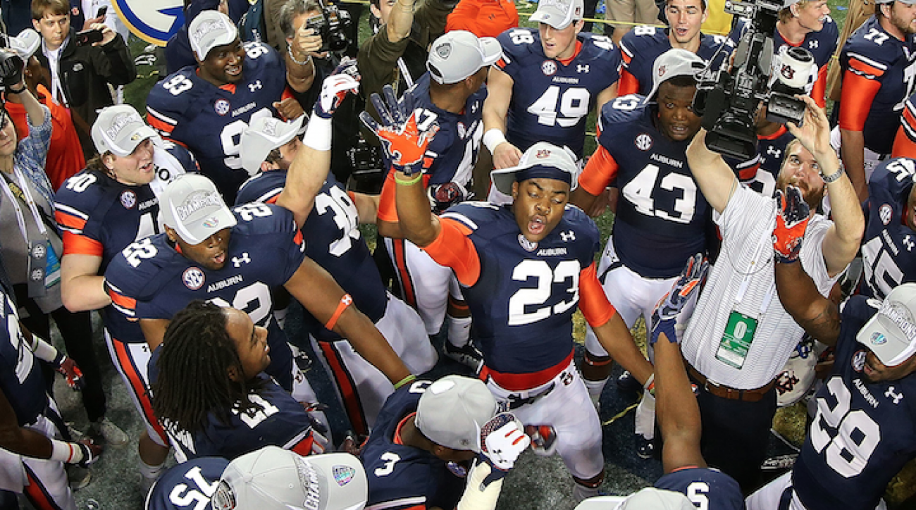Auburn officially returns to the college football elite
