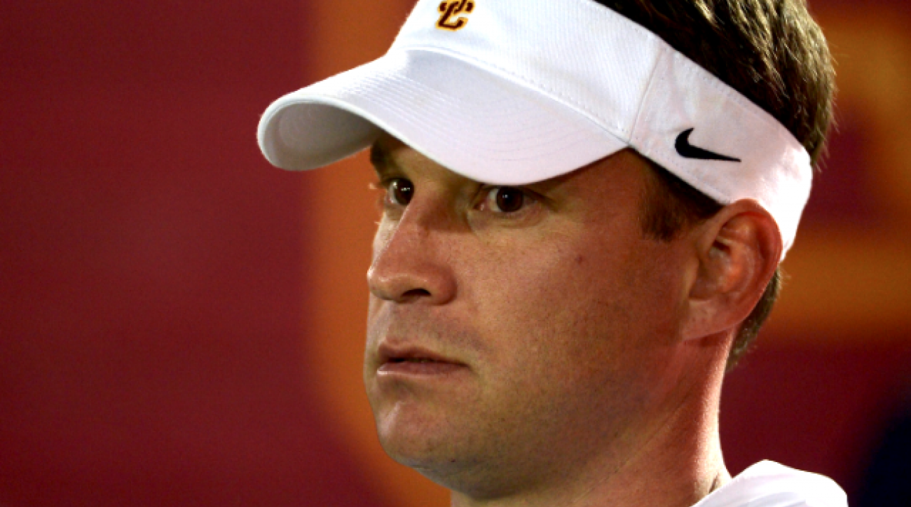 USC athletic director Pat Haden on Lane Kiffin's firing