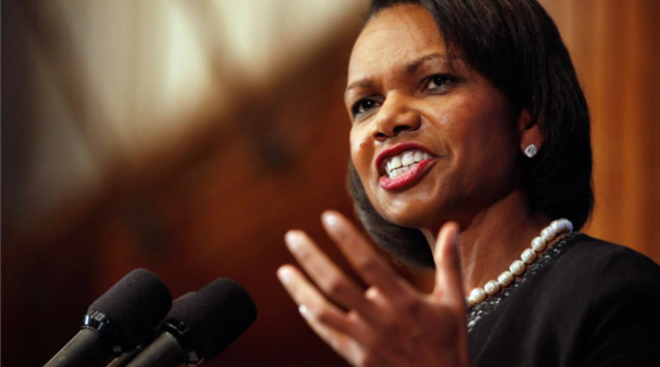 Condoleezza playoff committee backlash unwarranted