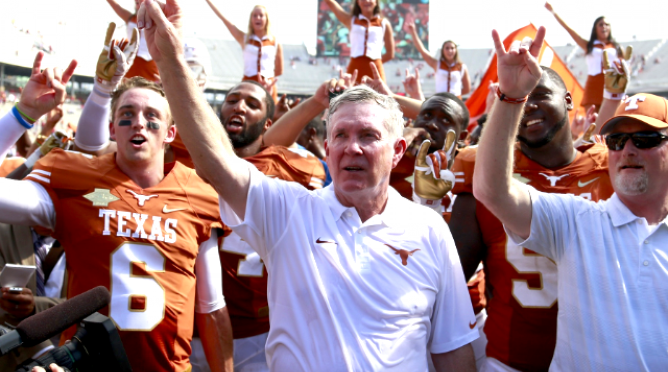 Are Mack Brown, Texas back in the hunt?