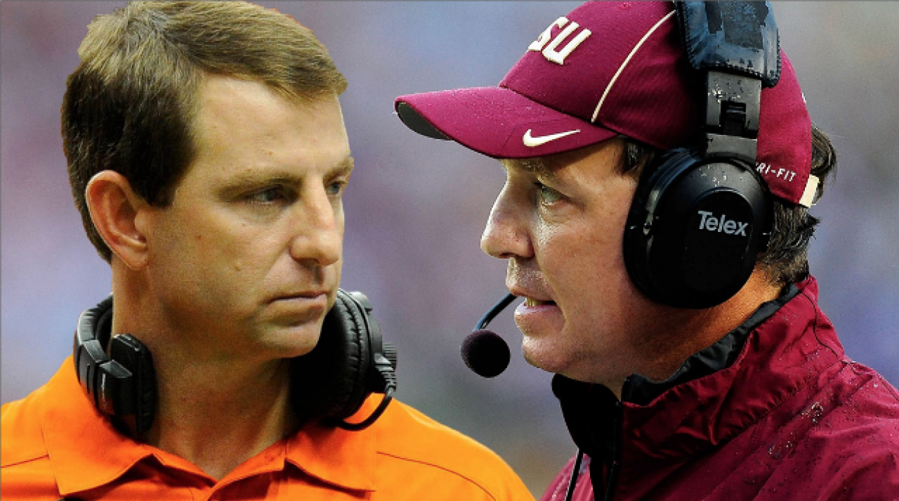 Dabo and Jimbo: What FSU vs. Clemson means for the coaches
