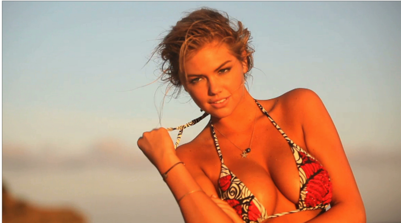 SI Swimsuit Models' First Kiss