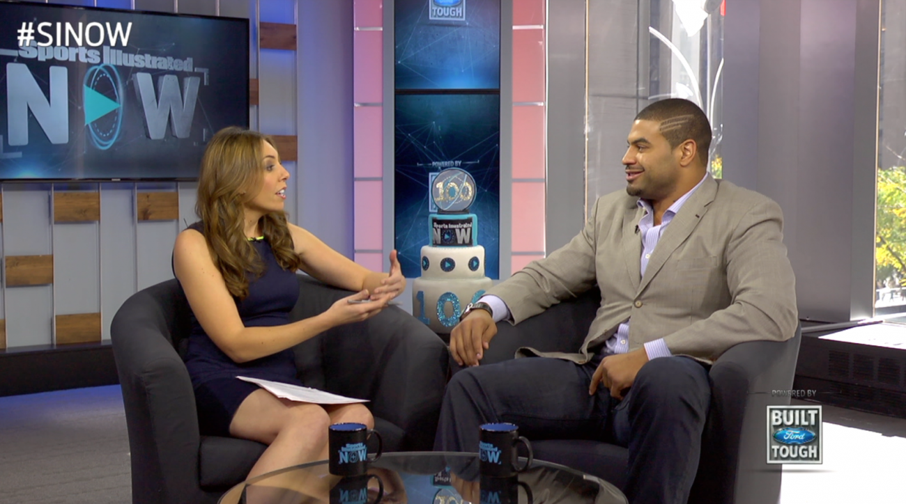 SI Now: Shawne Merriman on Lights On Coat Drive