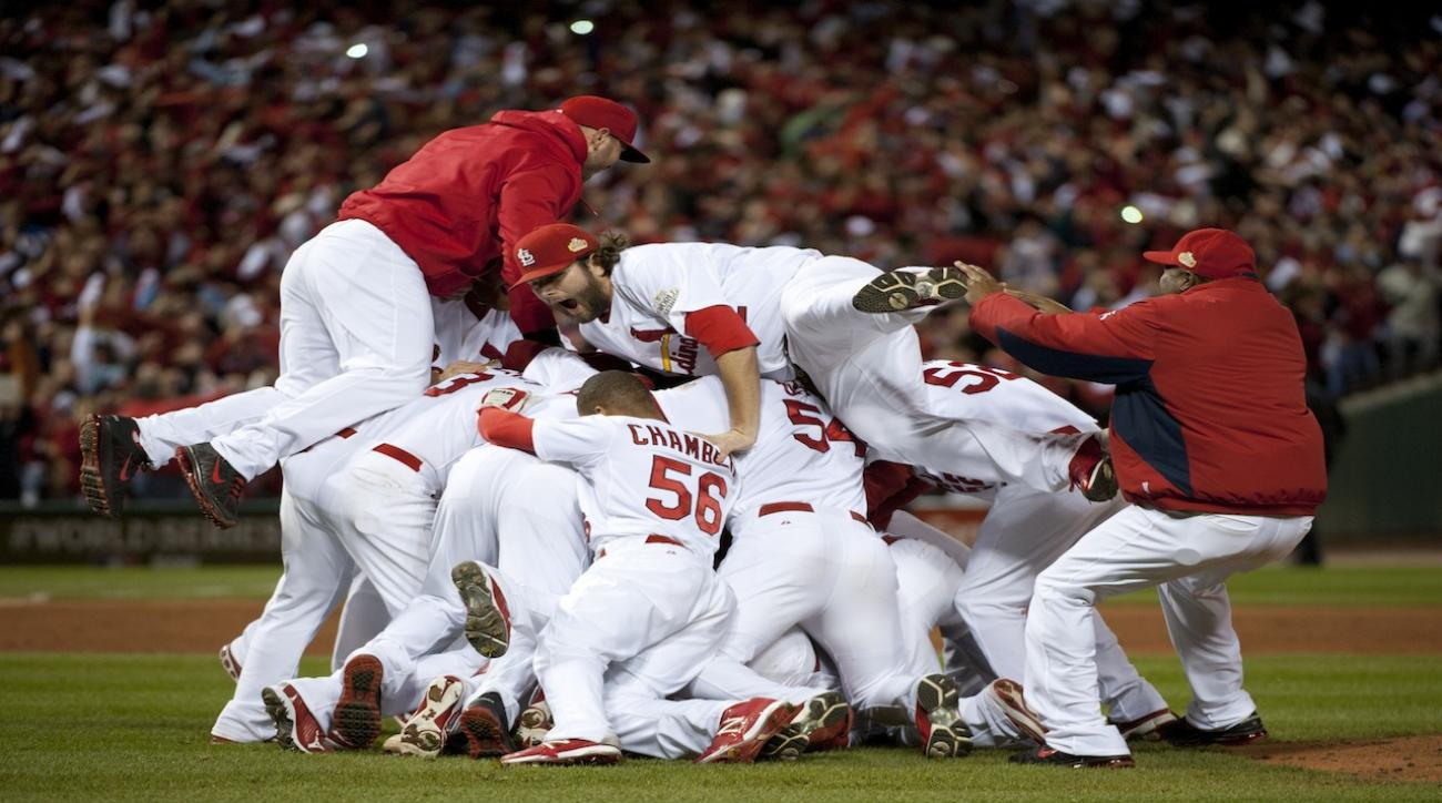 Can the Red Sox or Cardinals be considered dynasties?