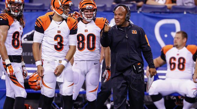 Hue Jackson, who coached the Raiders in 2011, will be a hot commodity this offseason after coordinating the Bengals' potent offense.