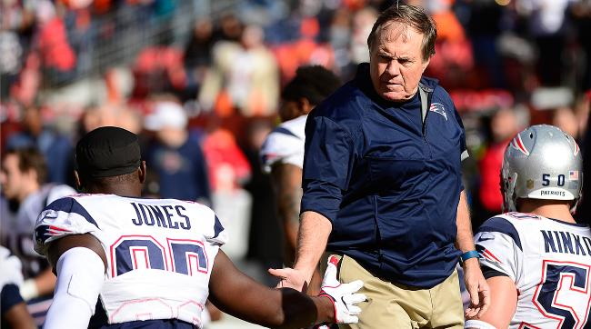 Bill Belichick traded away Chandler Jones, who is entering the final year of his contract.