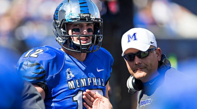 Former Memphis coach Justin Fuente is sharing what he knows about quarterback Paxton Lynch with NFL teams.