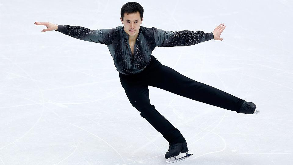 Patrick Chan has won gold at the men's singles figure skating world championships for the last three years, making him the heavy favorite to win Olympic gold.