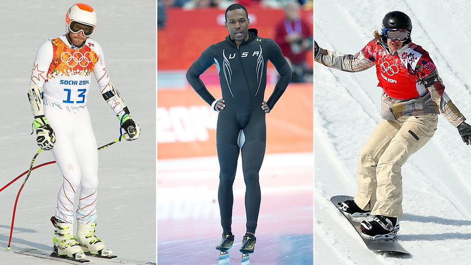 Bode Miller, Shani Davis and Lindsey Jacobellis are showing their more mature side as Olympic veterans.