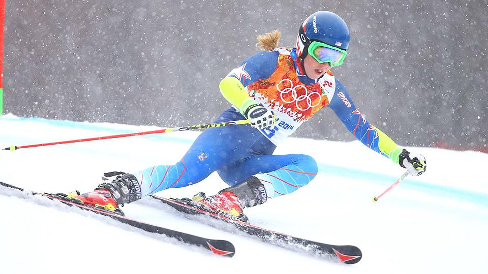 Despite it being her first-ever Olympic race, Mikaela Shiffrin was disappointed to not reach the podium in the giant slalom.