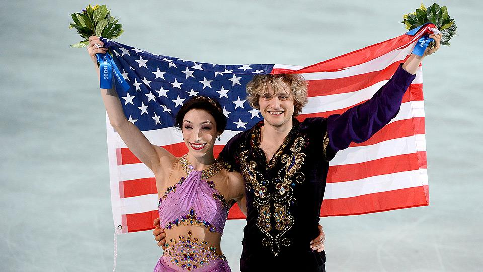 Meryl Davis and Charlie White have finally reached the top of their sport by winning an Olympic gold medal.
