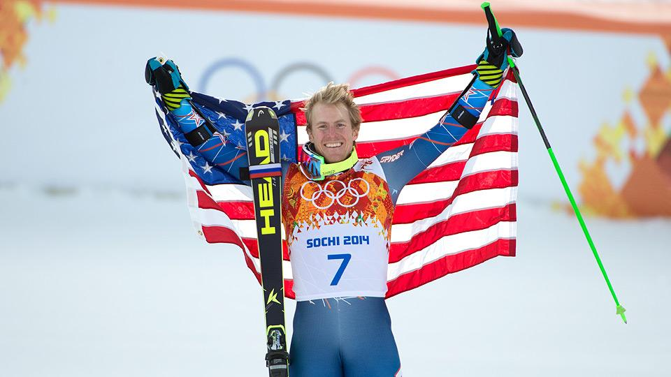 Ted Ligety, the three-time gold medalist at the 2013 world championships, finally secures his first medal in Sochi.
