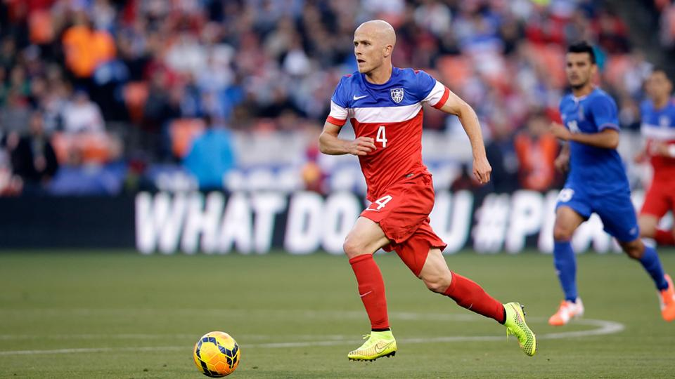 Michael Bradley is a lock for Jurgen Klinsmann's starting lineup in the World Cup. But who will join him?