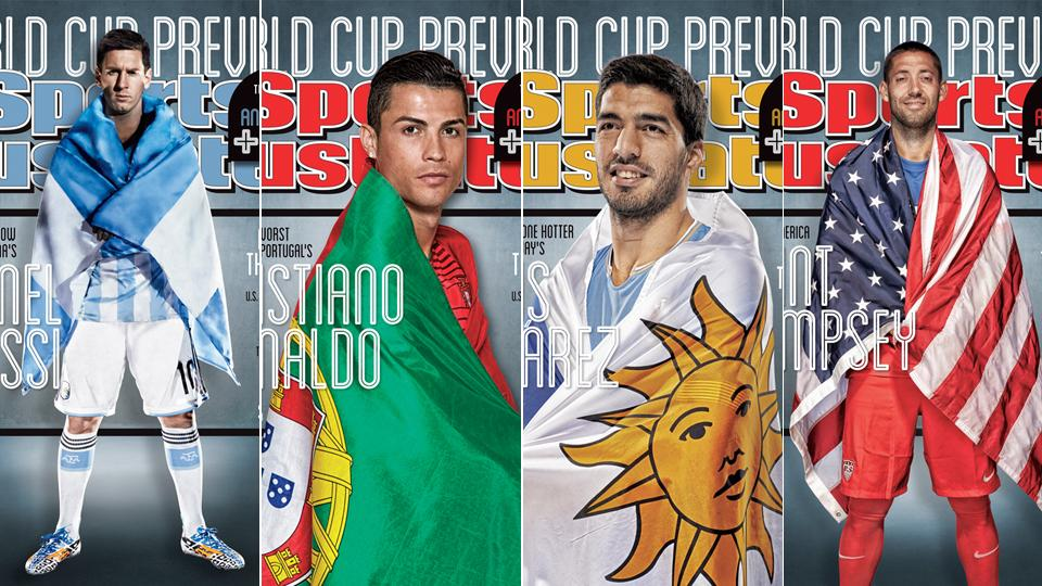 2014 World Cup: Newest soccer covers in Sports Illustrated's history