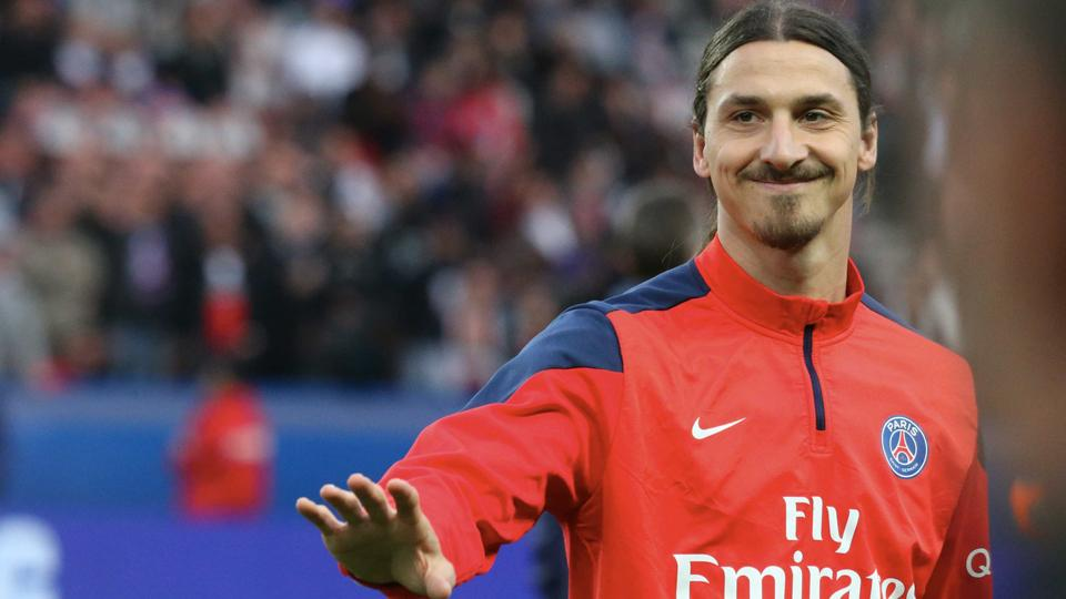 Zlatan Ibrahimovic's autobiography I Am Zlatan was released in the USA on Tuesday.