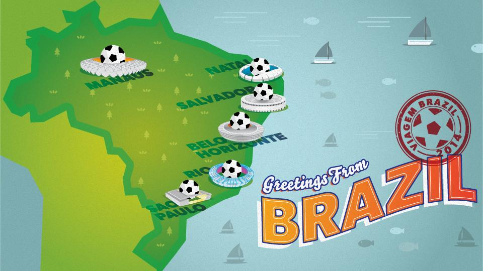 Greetings From Brazil: A Travel Guide to the Other Side of the World Cup