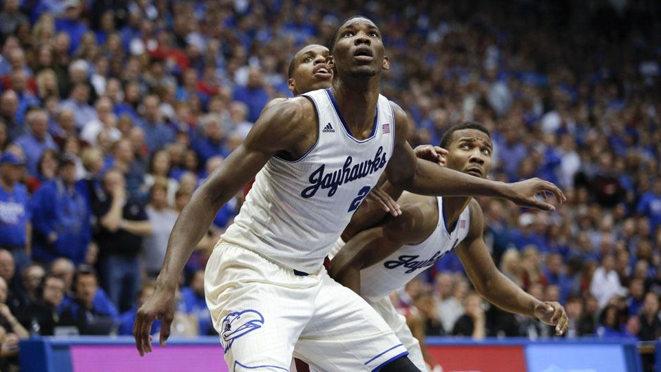 Joel Embiid will wait and see where he is selected in next Thursday's draft.