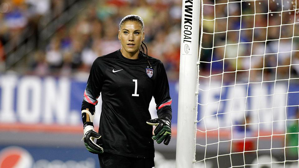 U.S. women's national team goalkeeper Hope Solo was arrested for allegedly assaulting a pair of relatives.