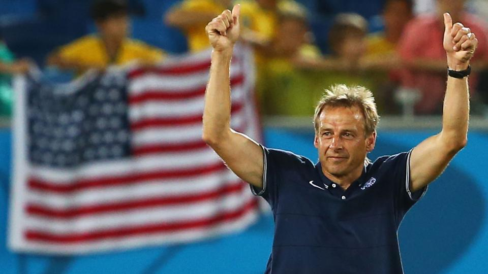 Jurgen Klinsmann is hoping for another two-thumbs-up performance from the USA vs. Portugal on Sunday. If he gets it, his side will be through to the knockout stage of the World Cup in just two games.