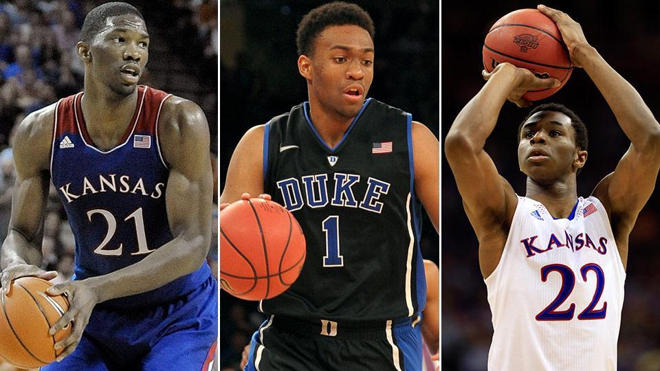 Joel Embiid, Jabari Parker and Andrew Wiggins headline a deep 2014 NBA draft class.