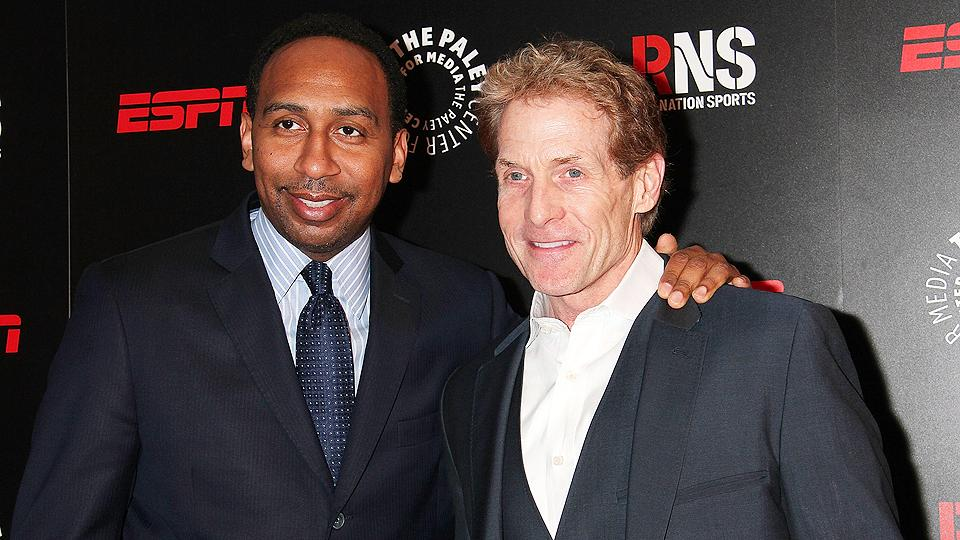 Stephen A. Smith (left) and Skip Bayless represent the faces of ESPN's