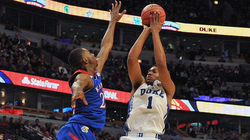 Andrew Wiggins (left) might have more upside, but Jabari Parker may be better now.