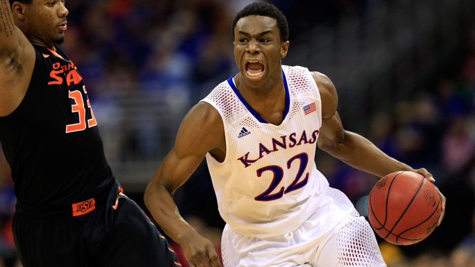 Oddsmaker sets Andrew Wiggins as favorite to be No. 1 pick in NBA draft