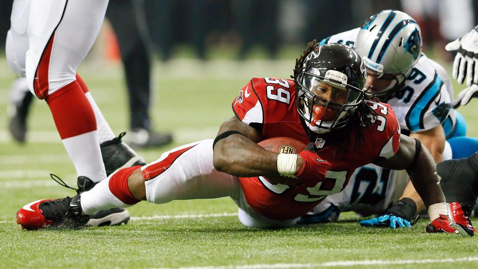 Steven Jackson compiled a career-low 543 rushing yards last season, his first in Atlanta.