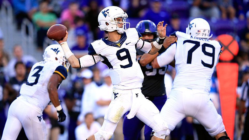 West Virginia names Clint Trickett its starting quarterback entering 2014