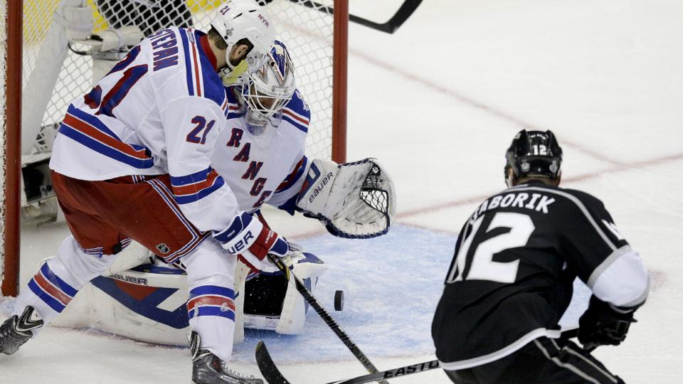 Los Angeles Kings right winger Marian Gaborik had 14 goals and eight assists this past postseason.