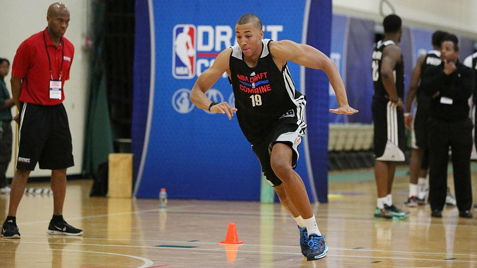 Dante Exum selected by Jazz with the No. 5 pick in NBA draft