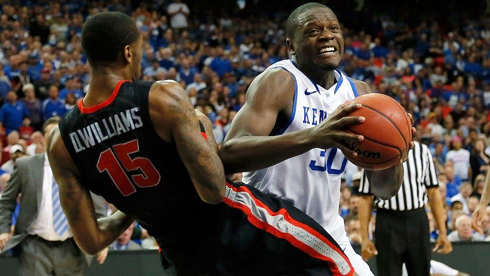 Julius Randle selected by Lakers with No. 7 pick in NBA draft