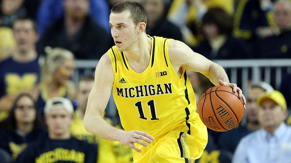 Nik Stauskas selected by Kings with No. 8 pick in NBA draft