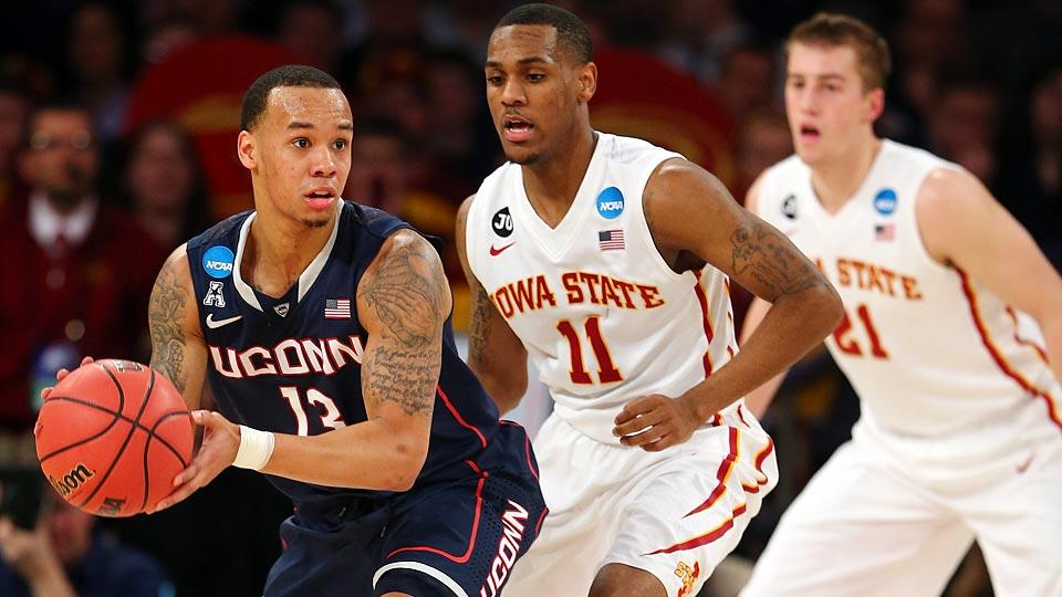 Shabazz Napier selected by Hornets with No. 24 pick, traded to Heat