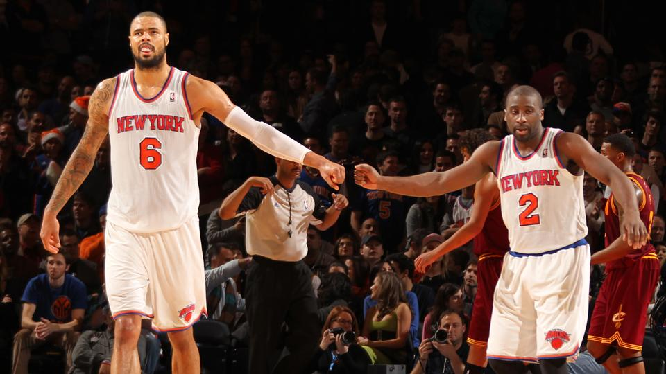 Tyson Chandler (left) and Raymond Felton (right) are reportedly heading from New York to Dallas.