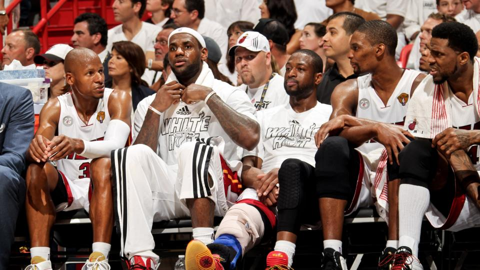 Chris Bosh and Dwyane Wade joined LeBron James and Udonis Haslem as players to opt out of their deals.