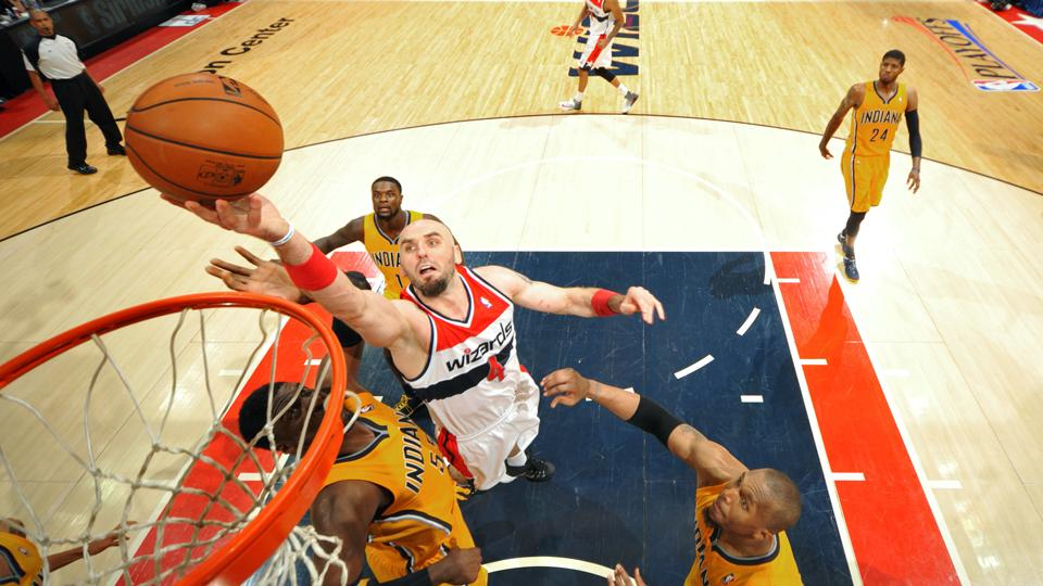 Marcin Gortat nearly averaged a double-double while making 81 appearances last season.