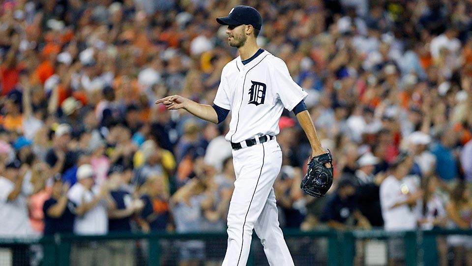 Detroit Tigers pitcher Rick Porcello has been on a tear recently, upping his shutout streak to 25-plus innings.