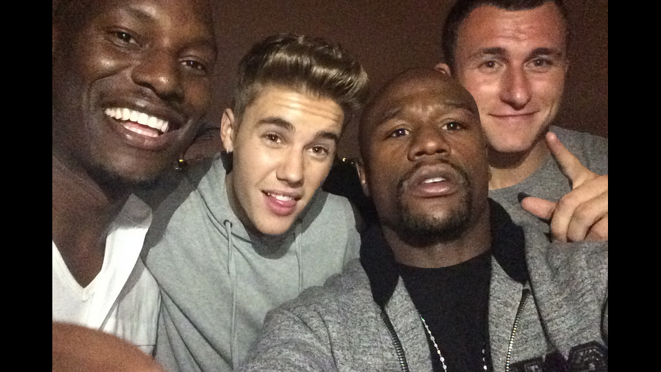 The cops got called on Johnny Manziel, Floyd Mayweather, and Justin Bieber