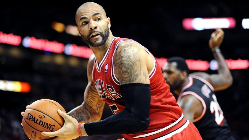 The $16.8 million owed to Carlos Boozer next season will not count against Chicago's salary cap.
