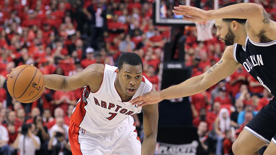 Kyle Lowry averaged a career-high 17.9 points and 7.4 assists per game last season.