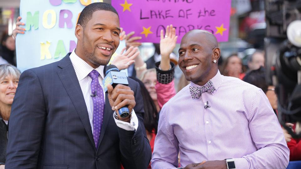 Michael Strahan reportedly threatened by homeless man