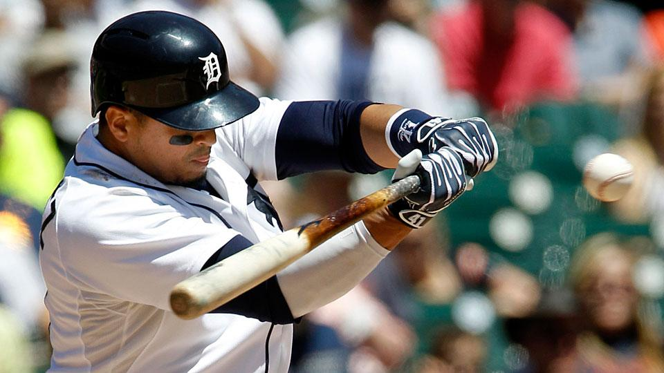 Victor Martinez has 23 strikeouts and 20 home runs this season, and his 618 Ks are the fewest of any active player with at least 5,800 plate appearances.