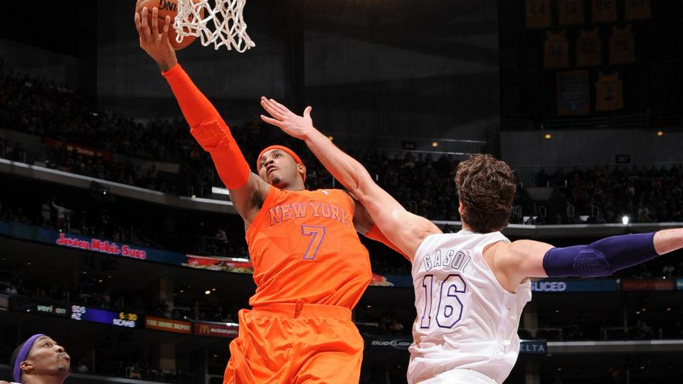 Report: Carmelo Anthony wants to talk with Pau Gasol about playing for Knicks