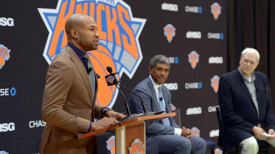 Derek Fisher to coach Knicks' summer league team in Las Vegas