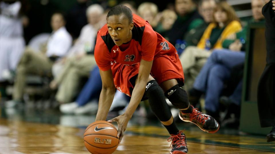 Texas Tech suspends Amber Battle after altercation with football player