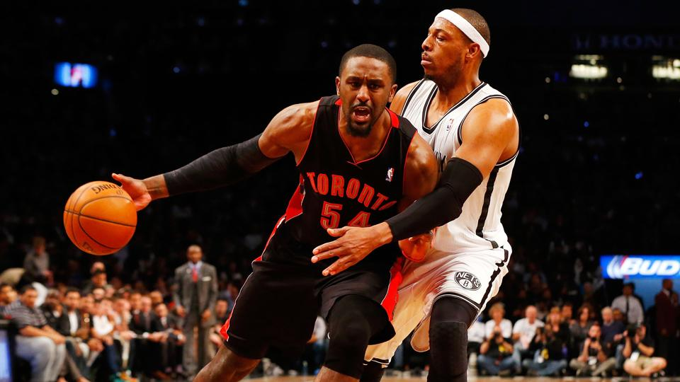 Patrick Patterson was acquired by the Raptors in the December 2013 trade that sent Rudy Gay to the Kings.