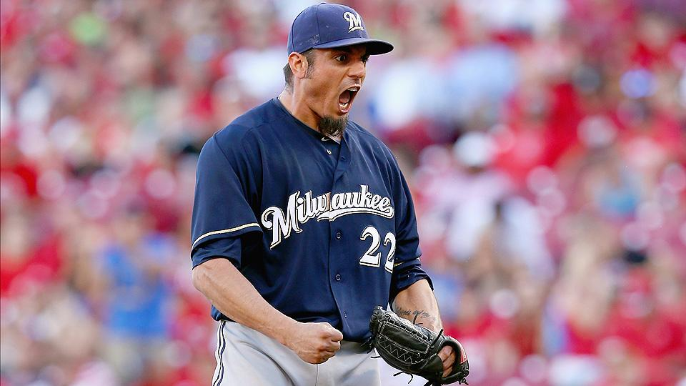 After a rough start, the Brewers' 30-year-old righty Matt Garza is making a four-year, $55-million deal worthwhile.