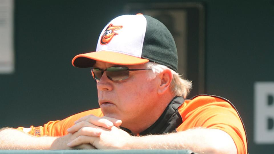 Buck Showalter was not pleased about John Lackey's comments on Nelson Cruz.
