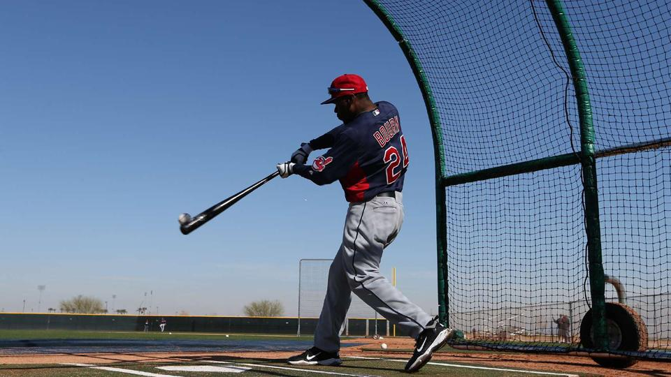 Indians OF Michael Bourn out 3-4 weeks with hamstring injury